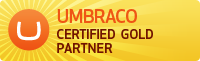 Umbraco gold partner logo